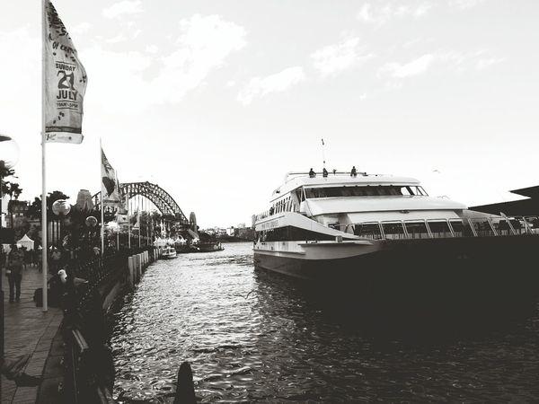 cruisin' in Sydney Harbour Photography Hello World Monochrome Streetphotography