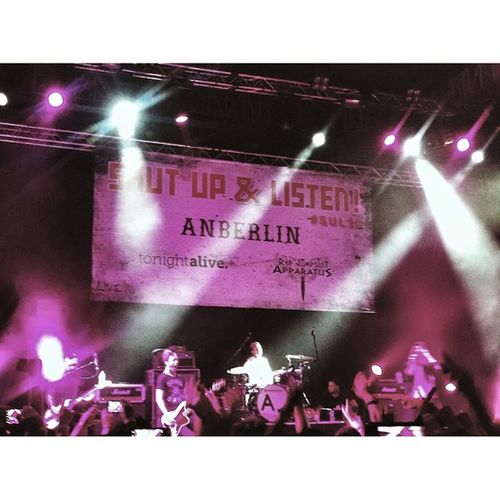 """""""This was over before. Before it ever began. Your lips, your lies, your lust. Like the Devil's in your hands."""" Feelgooddrag Thank you Anberlin . ❤"""