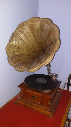 Gramophone Indoors  No People Architecture Day