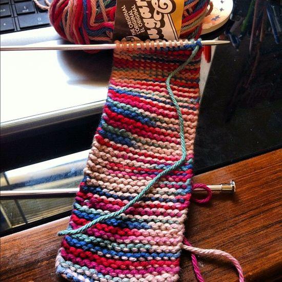Day 3. Effafilter Knitter