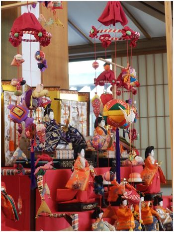吊るし雛ちょいと続きます..😊 | 🎎 Hina Matsuri (ひな祭り), also called Doll's Day or Girl's Day ― is a special day in Japan celebrated each year of March 3rd. Platforms covered with a red carpet are used to display a set of ornamental dolls (雛人形/Hina ningyo) 🎎 representing the Emperor, Empress, attendants and musicians in traditional court dress of the old HEIAN period... Today it is celebrated primarily to pray and hope for a good future and a prosperous life for every little girls and daughters. | ――――――――――――――――――雛人形 吊るし雛 吊るし飾り ひな祭り Doll's Festival Girl's Day Girl's Festival Girl Power Multi Colored Hanging Ornaments Celebration Culture And Tradition Japanese Tradition Japanese Traditional Events Hina Matsuri March3rd Japanese Festival Japanese Culture Praying For A Daughter's Good Fortune Olympusinspired Olympus Photography EyeEm Gallery EyeEm Best Shots From My Point Of View