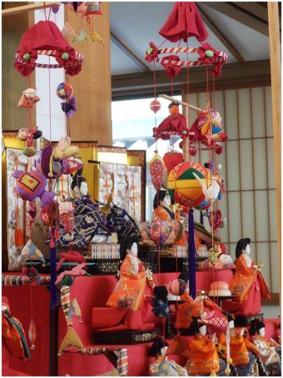 吊るし雛ちょいと続きます..😊 | 🎎 Hina Matsuri (ひな祭り), also called Doll's Day or Girl's Day ― is a special day in Japan celebrated each year of March 3rd. Platforms covered with a red carpet are used to display a set of ornamental dolls (雛人形/Hina ningyo) 🎎 representing the Emperor, Empress, attendants and musicians in traditional court dress of the old HEIAN period... Today it is celebrated primarily to pray and hope for a good future and a prosperous life for every little girls and daughters. | ――――――――――――――――――雛人形 吊るし雛 吊るし飾り ひな祭り Doll's Festival Girl's Day Girl's Festival Girl Power Multi Colored Hanging Ornaments Celebration Culture And Tradition Japanese Tradition Japanese Traditional Events Hina Matsuri March3rd Japanese Festival Japanese Culture Praying For A Daughter's Good Fortune Olympusinspired Olympus Photography EyeEm Gallery EyeEm Best Shots From My Point Of View