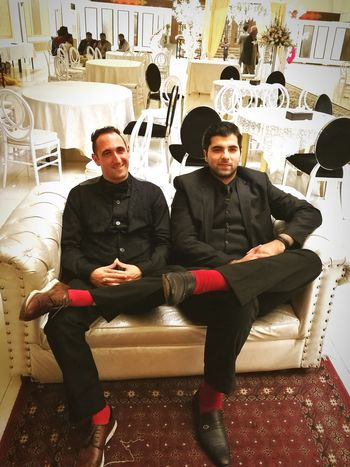 Wedding Crasjerz Redsocks Blacksuits Islamabad Pakistan Weddings Around The World Indoors  People First Eyeem Photo
