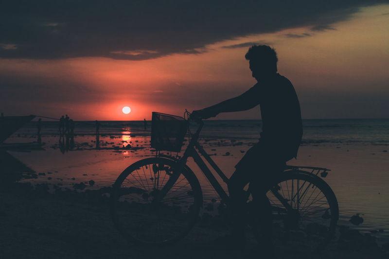 Me, bicycle,