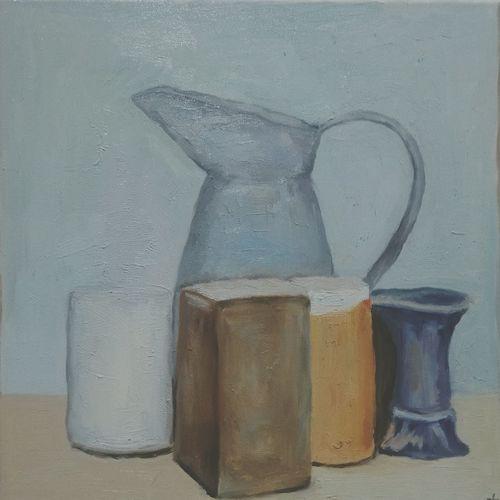 Oil Painting Morandi