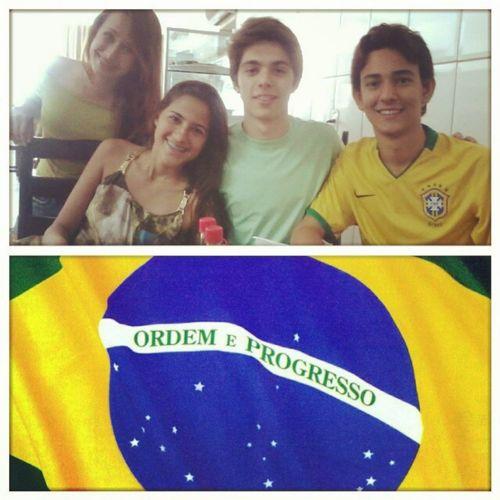 Copa das confederações. Brasil e Japão