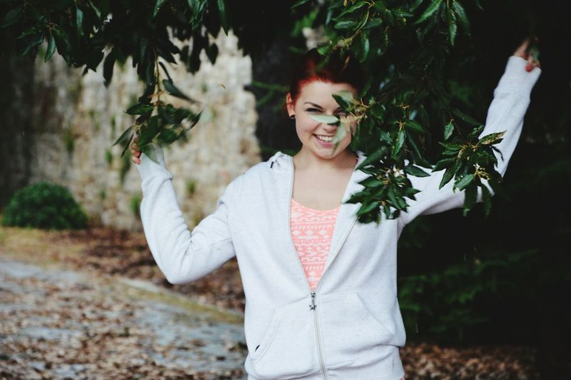 Smiling Portrait One Person Happiness Cheerful People Tree Adults Only Enjoyment Nature Young Adult Adult One Woman Only Healthy Lifestyle Plant Women Beauty Only Women Outdoors Vacations Tree Naturephotography