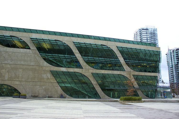 Surrey Public Library Architecture_collection Building Exterior Architecture Public Library Modern