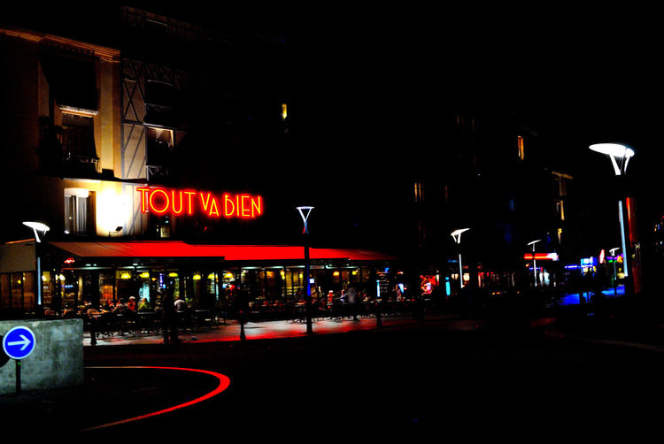 dieppe nightlife Building Exterior City Illuminated Neon Night Outdoors First Eyeem Photo EyeEmNewHere The Week On EyeEm