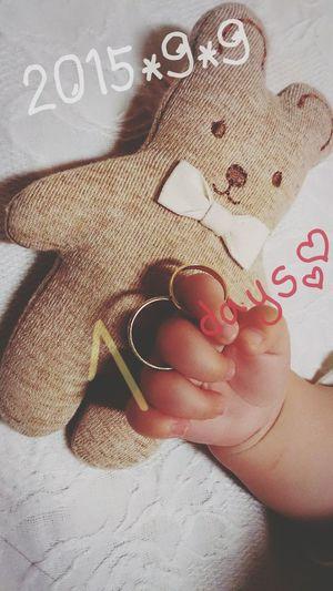 2015年9月9日 生後100日目 100days Baby ❤ Baby Boy My Baby 景登 Eito Love 息子