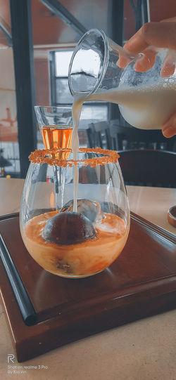 ice coffee ball
