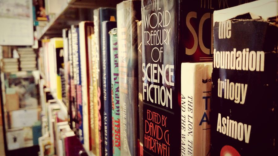 Week 30 - Fifty years old science fiction, anything in there become a reality? Reading Books Read Bookstore Library Science Fiction Saturdayafternoon  Friendsbookstore Monrovia