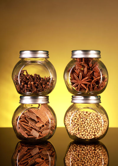 Spice Jars with