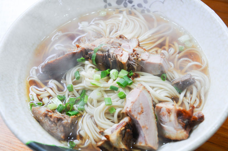 Bowl Close-up Day Food Food And Drink Freshness Healthy Eating Indoors  No People Noodle Soup Noodles Ready-to-eat Soup