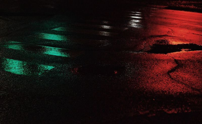 Intersection Lights Streetphotography Street Light Red Green Red And Green Colors Crosswalk Night Backgrounds Red Full Frame Abstract Close-up