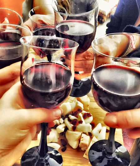 Wine Not Human Hand Human Body Part Real People Holding Food And Drink Wineglass Wine Freshness Refreshment Unrecognizable Person Drink Alcohol Indulgence Lifestyles Men Indoors  Close-up Drinking Glass Leisure Activity Food Wine Not