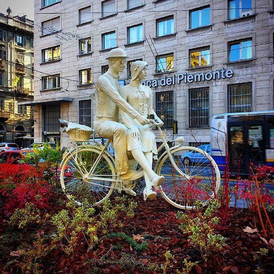 """Ricordi quelle sere col biondo studentino..."" 😉❤ Piemontesinabella Love Bici Torino Torinodigitale Torinoélamiacittá Turin Turinheart Piemonte"