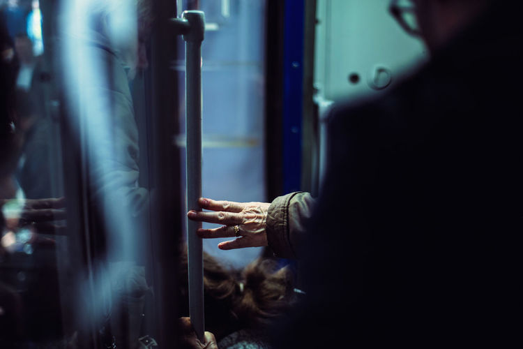 People In Train