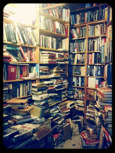 Books ♥ Used Bookstore Book Shelves