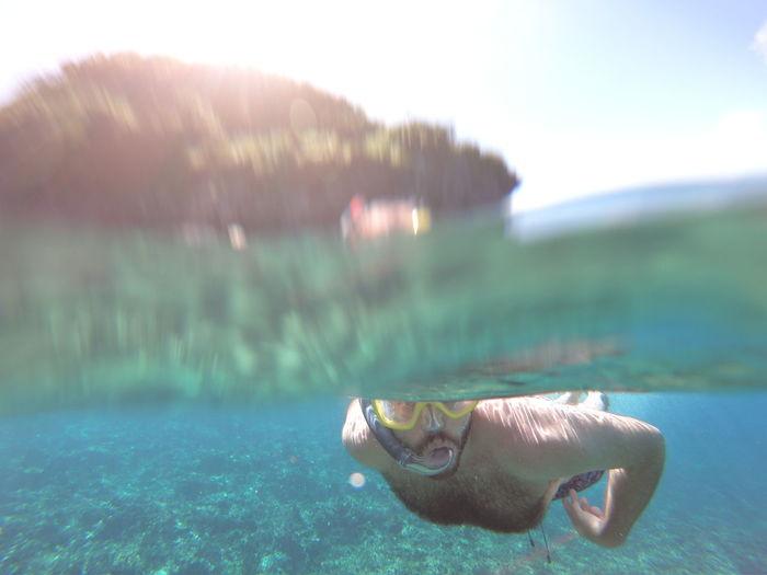 Island Islandlife Picoftheday Beach Water Ocean Lagoon Telesin Gopro GoProhero6 Underwater Dive Photography People Beauty Woman Man Paradise Philippines Palawan Elnido Dream