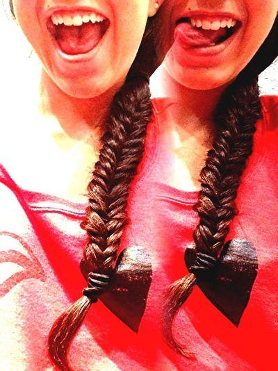 I can braid hooray