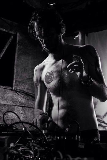 Black & White Shitkatapult Records Traumschmiere Plötzlich Am Meer Dj Turntable Tattoos