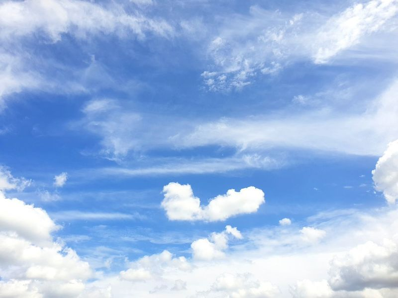 Nature EyeEm Best Shots Rear View EyeEmNewHere Beauty In Nature Beautiful View Blue Backgrounds Flying Sky Only Sky Cloud - Sky Cumulus Cloud Heaven Forgiveness Dramatic Sky Atmospheric Mood Cloudscape