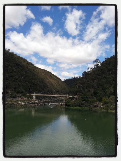 River Reflections Water Nature Cloudporn Skyporn Sky_collection Cataract Gorge