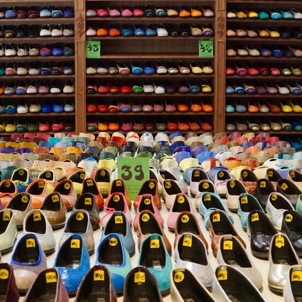 waiting to hit the road Abundance Array Ballerinas Barcelona Colorful Day Indoors  Multi Colored No People Pleasefollow Price Tag Shelf Shoes Shoesize Supermarket