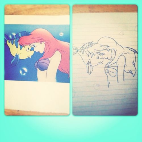 First Disney Drawing