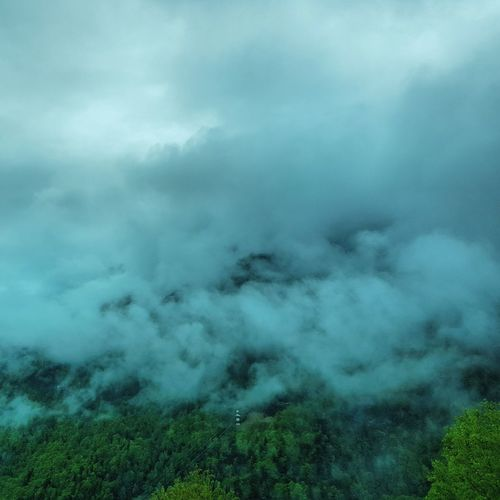 Smoke - Physical Structure Nature No People Power In Nature Condensation Outdoors Steam Beauty In Nature Cloud - Sky Fog Natural Phenomenon Landscape Scenics Sky Amazing View Taking Pictures Taking Photos Eye4photography  Nature Nature Photography Rain Clouds And Sky Mountain Mountain Range Greenery