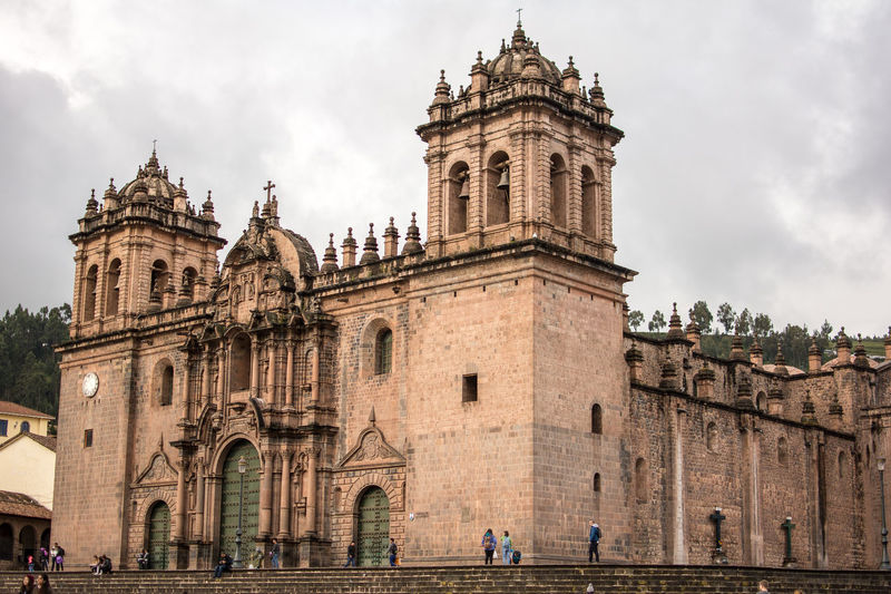 Cathedral of cusco against sky