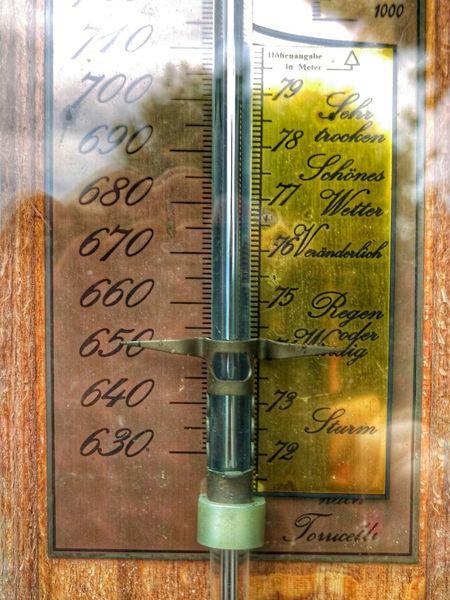 Meteorology Barometer Torr Torricelli MmHg Mercury