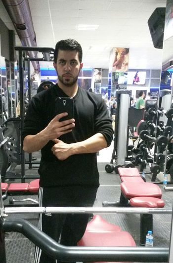 That's Me In The Gym Gym Time Hi!