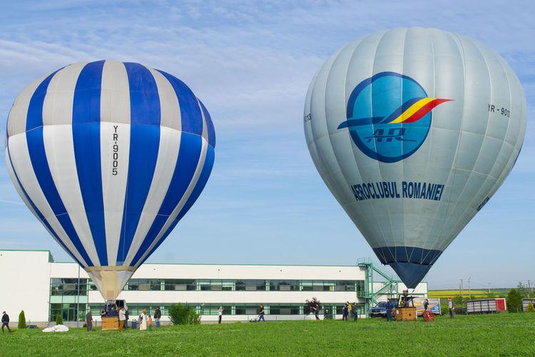 Hot Air Balloon Air Vehicle Sky Ballooning Festival Hot Air Ballons Festival Hot Air Balloon Festival Blue Sky Adventure Balloon Flying EyeEmNewHere