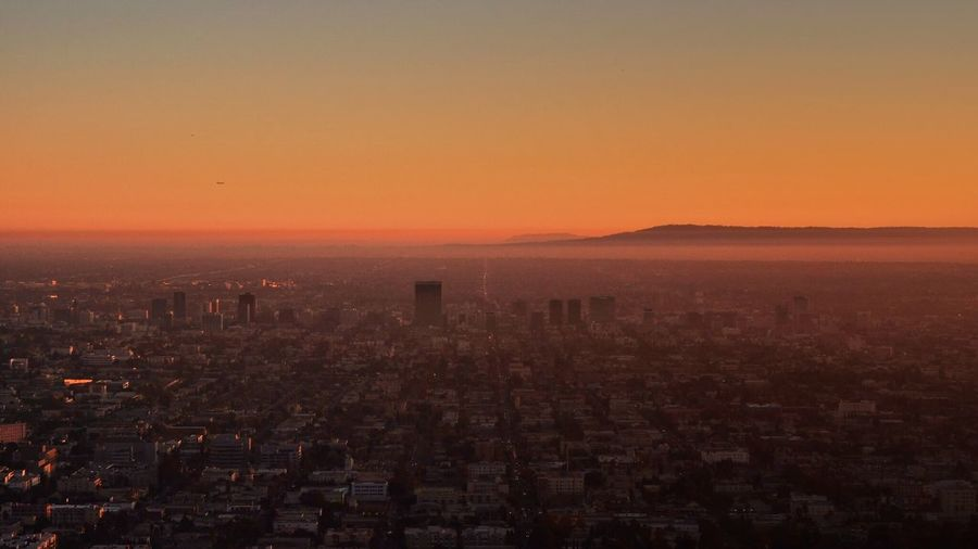 Hollywood Los Angeles, California Sunset Architecture Cityscape Building Exterior City Built Structure No People Outdoors