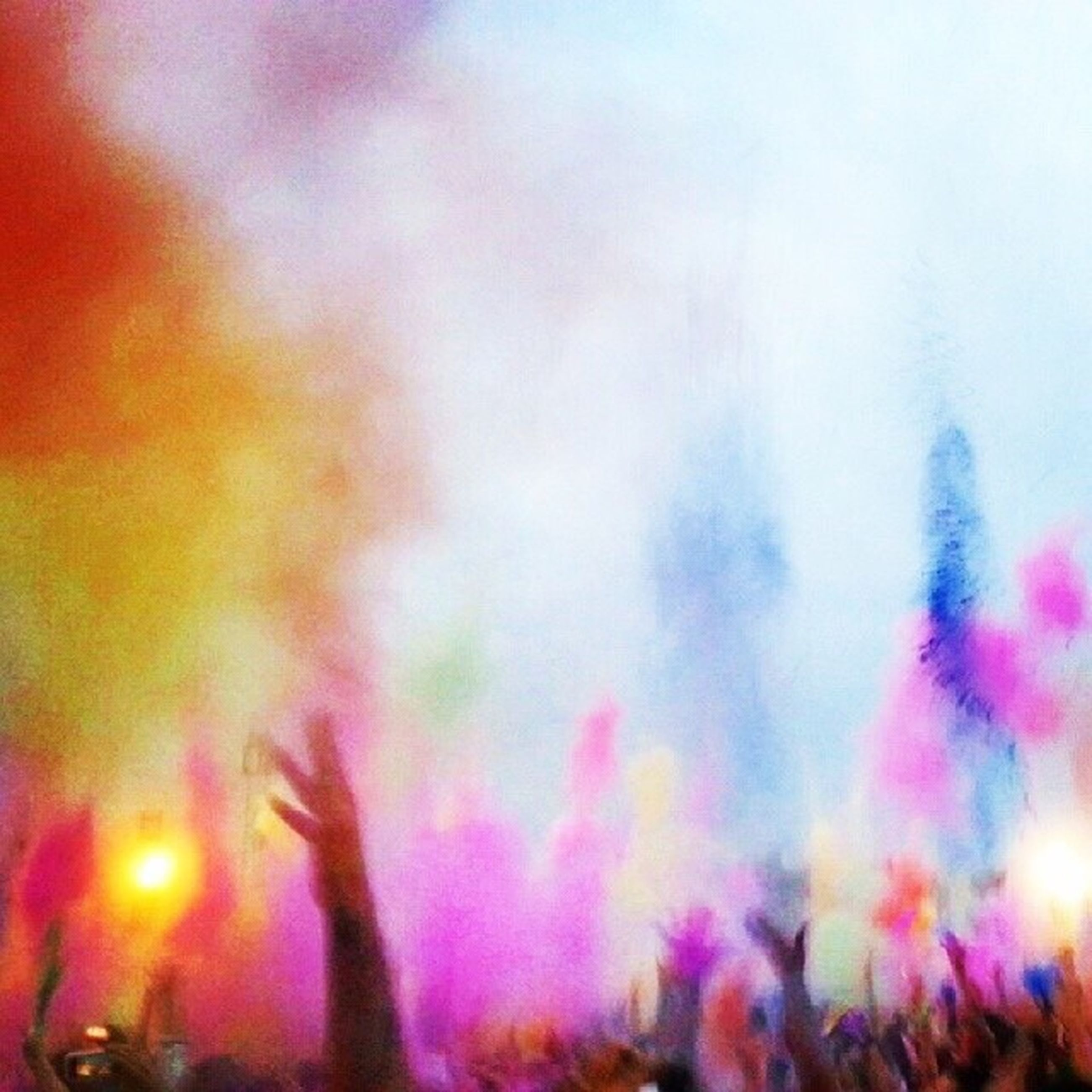 lifestyles, leisure activity, crowd, celebration, large group of people, person, enjoyment, men, illuminated, event, arts culture and entertainment, fun, togetherness, arms raised, standing, excitement, nightlife, multi colored