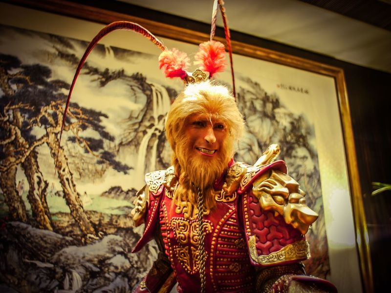 Adult Adults Only Day Jewelry Looking At Camera Mature Adult Men Monkey King One Man Only One Mature Man Only One Person Only Men Outdoors People Portrait Real People Smiling Traditional Clothing