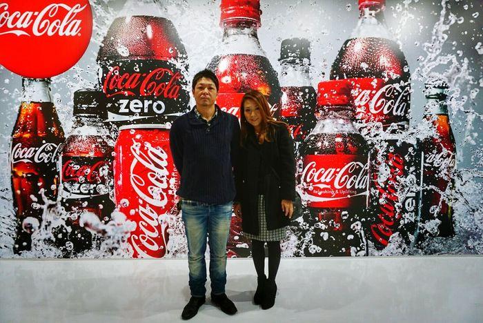 In Japan Sibling Long Time No See 3years NARITAAIRPORT Coca-cola