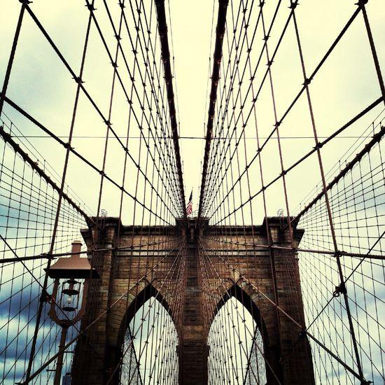 Precision Architecture Bridge Brooklyn Brooklynbridge NYC Newyork