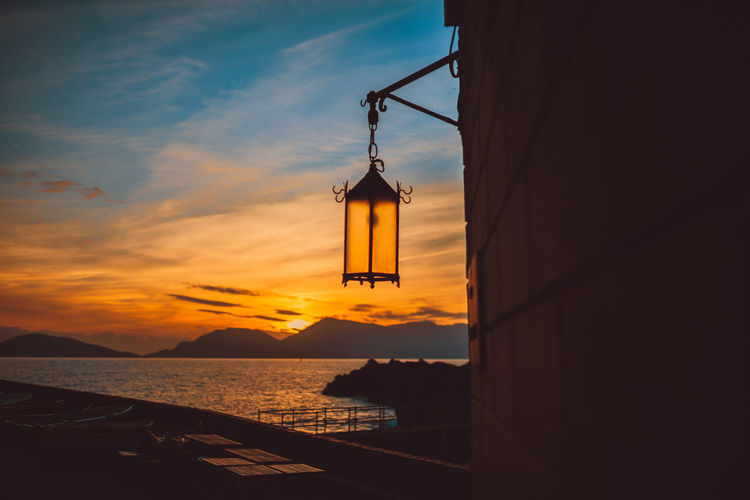 Beauty In Nature Cloud - Sky Day Hanging Nature No People Outdoors Pulley Scenics Sea Sky Sunset Tranquil Scene Tranquility Water