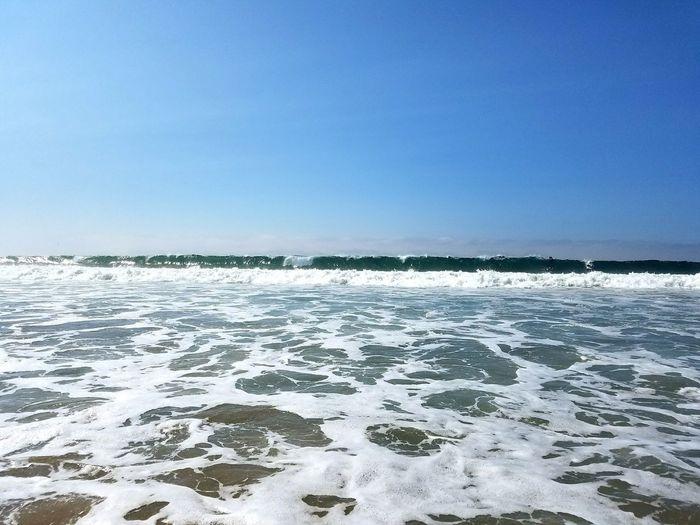 Sand Beach Outdoors Ocean Waves Newport Beach Waves, Ocean, Nature