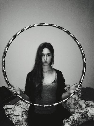 Girl Portrait PhonePhotography Amateurphotography Blackandwhite