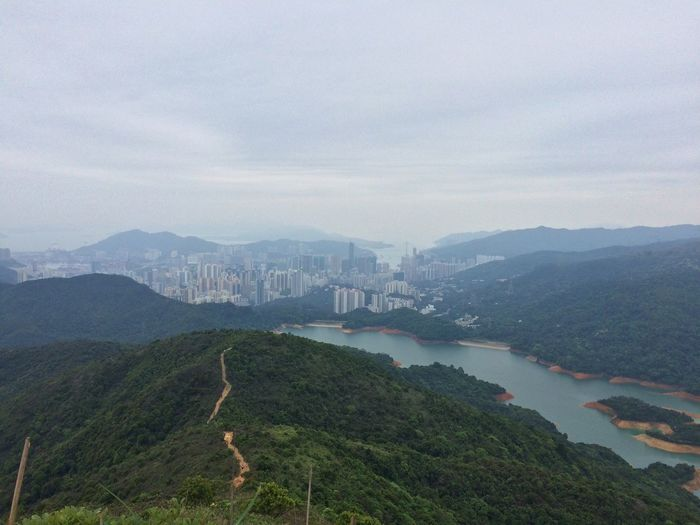 Landscape_photography Hong Kong Trail High Angle View
