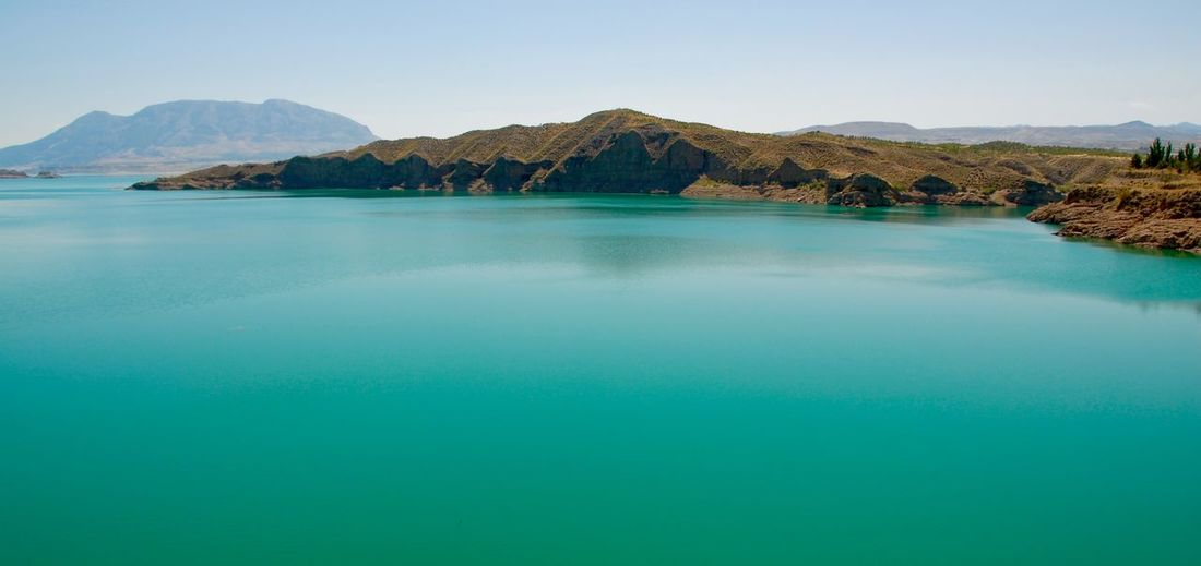 Andalucía Calm Clear Sky Landscape Tranquil Scene Tranquility Travel Destinations Water A Bird's Eye View Colour Of Life Color Of Life! Color Of Life