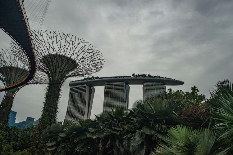 Singapore ガーデンズ・バイ・ザ・ベイ マリーナベイ・サンズ