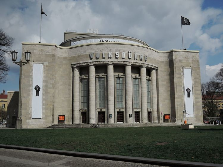 Cloud - Sky History City Outdoors Politics And Government No People Sky Architecture Day Berlin Travel Destinations Theater Volksbühne