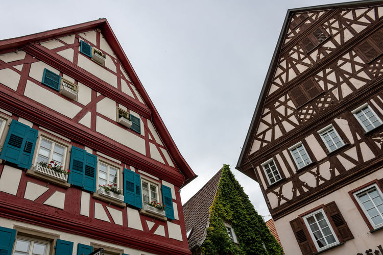 Three timbered