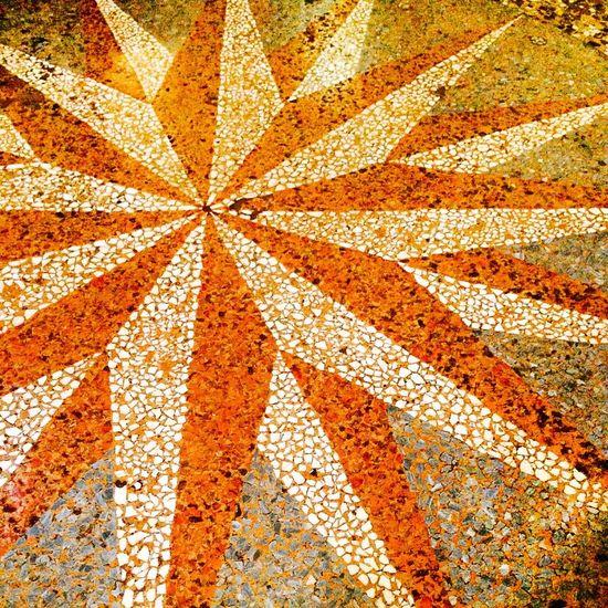 Italy Bologna Madonna Sanluca Compass Tiles Pavement Architecture Details Orientation