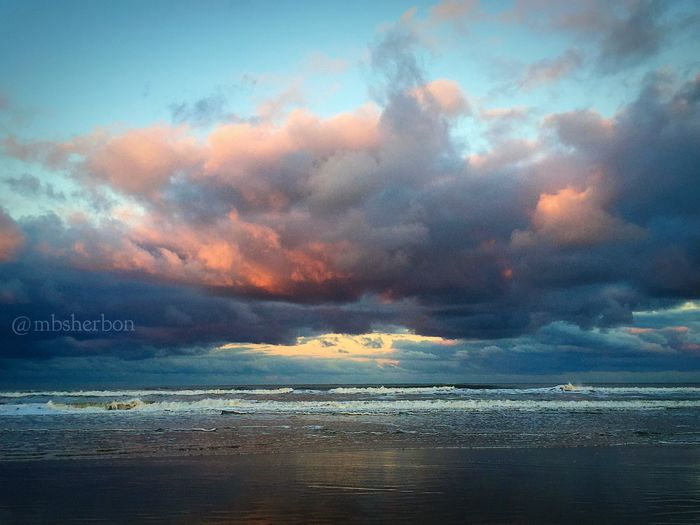 Clouds Sky Sunset Florida EyeEm Nature Lover Eye4photography  Finding Beauty Nature Ocean Beach